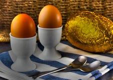Wielkanocny śniadanie Obrazy Stock
