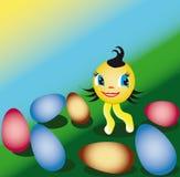 Wielkanoc pogodna Obraz Royalty Free