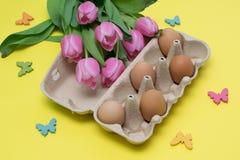Wielkanocny przygotowanie Zdjęcia Stock