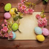 Wielkanocny tło Obraz Stock