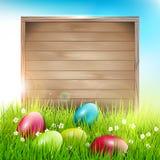 Wielkanocny tło Fotografia Stock