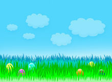 Wielkanocny wakacje krajobraz Fotografia Stock