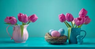 Wielkanocny wakacyjny sztandaru projekt Obraz Stock