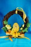 Wielkanocny wianek Zdjęcie Royalty Free