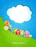 Wielkanocny wiosny tło Fotografia Royalty Free