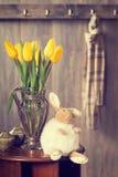 Wielkanocny wnętrze Fotografia Stock