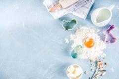 Wielkanocny wypiekowy kulinarny t?o fotografia royalty free