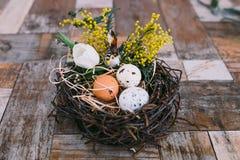 Wielkanocny wystrój Fotografia Stock