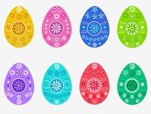 Wielkanocnych jajek dekoracja Fotografia Royalty Free