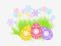 Wielkanocnych jajek dekoracja Zdjęcia Stock