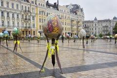 Wielkanocnych jajek festiwal Obrazy Royalty Free