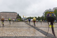 Wielkanocnych jajek festiwal Obrazy Stock