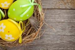 Wielkanocnych jajek gniazdeczko Obrazy Stock