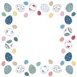 Wielkanocnych jajek granica Obraz Royalty Free