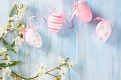 Wielkanocnych jajek rama Zdjęcie Royalty Free
