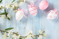 Wielkanocnych jajek rama Fotografia Stock