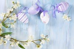 Wielkanocnych jajek rama Obraz Royalty Free