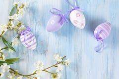 Wielkanocnych jajek rama Fotografia Royalty Free