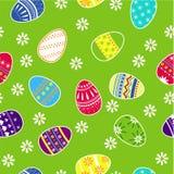 Wielkanocnych jajek streamless wzór Fotografia Royalty Free
