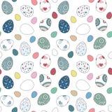 Wielkanocnych jajek tło Fotografia Royalty Free