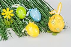 Wielkanocnych jajek trawa Obrazy Stock