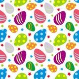 Wielkanocnych jajek wzór Fotografia Stock