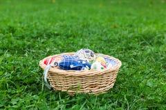 Wielkanocy gniazdeczko Fotografia Stock