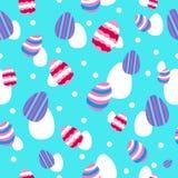Wielkanocy i wiosny Tapetowy Bezszwowy Deseniowy tło royalty ilustracja