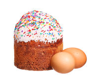 Wielkanocy jajka i Obraz Stock