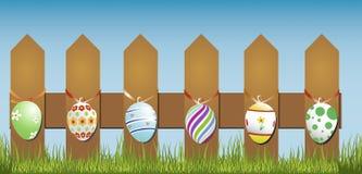 Wielkanocy ogrodzenie Obraz Royalty Free