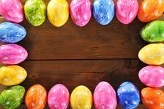 Wielkanocy rama Zdjęcia Royalty Free
