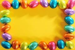 Wielkanocy rama Obrazy Royalty Free