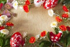 Wielkanocy rama Fotografia Royalty Free