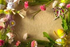 Wielkanocy rama Zdjęcie Stock