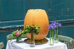 Wielkanocy stołowa dekoracja, wiosna Fotografia Royalty Free