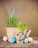 Wielkanocy wciąż życie zdjęcie stock