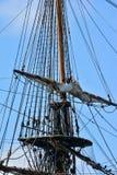 Wielki żeglowanie statku wschód Indiaman zdjęcie royalty free