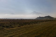 Wielki Ararat, Khor Virap monaster Zdjęcia Royalty Free