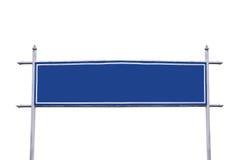 Wielki błękita znak Obraz Royalty Free