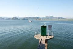 wielki balkans dsc Czarnogóry Sony skadar jezioro zdjęcie stock