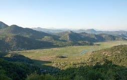 wielki balkans dsc Czarnogóry Sony skadar jezioro Obrazy Royalty Free