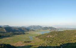 wielki balkans dsc Czarnogóry Sony skadar jezioro obraz stock