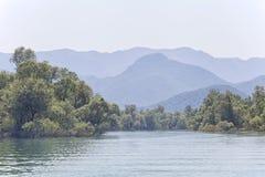 wielki balkans dsc Czarnogóry Sony skadar jezioro Fotografia Royalty Free