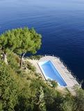 Wielki basen bez wody Zdjęcia Royalty Free