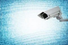 Wielki Brat kamery bezpieczeństwa inwigilacja Zdjęcia Stock