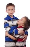 wielki brat patrzeć młodym patrzeje Zdjęcia Royalty Free