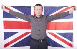 wielki Britain fan Zdjęcia Royalty Free