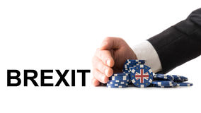 Wielki Brytania opuszcza strefa euro Zdjęcie Stock