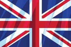 Wielki Brytania, Zjednoczone Królestwo flaga royalty ilustracja