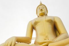 Wielki Buddha, Angtong, Tajlandia Zdjęcie Stock